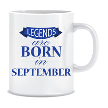 Legends Born In September Coffee Mug