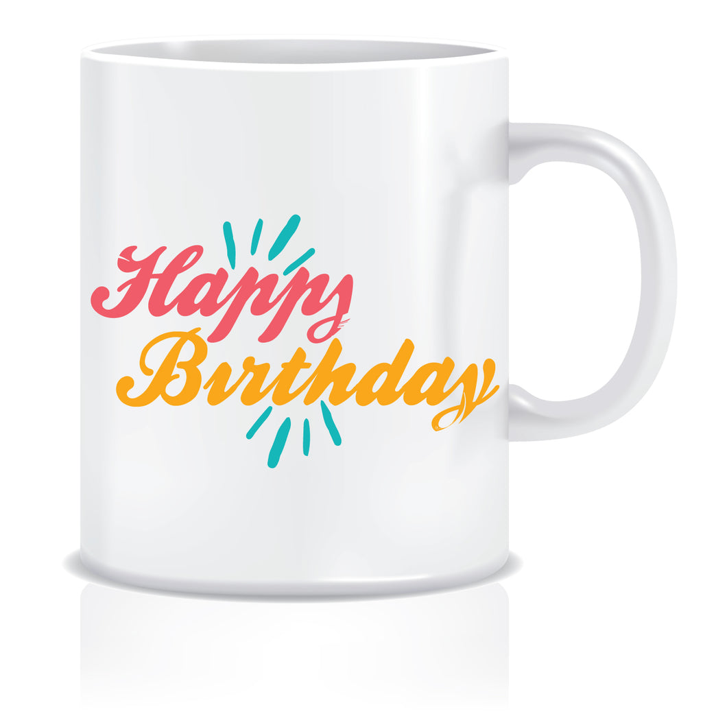 Happy Birthday Coffee Mug  ED644