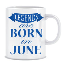 Legends Born In June Coffee Mug