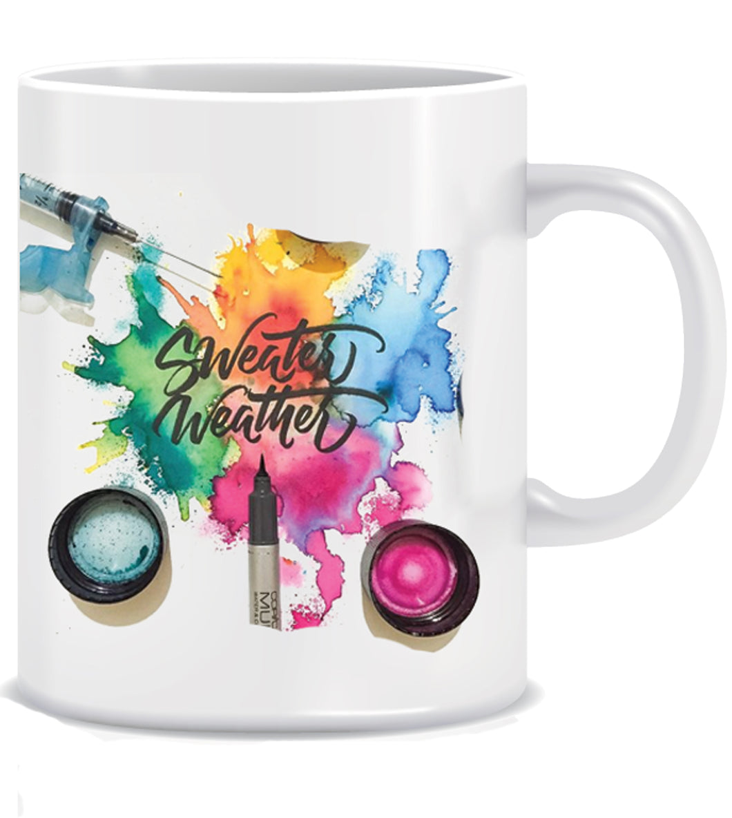 Sweater Weather Ceramic Coffee Mug ED037