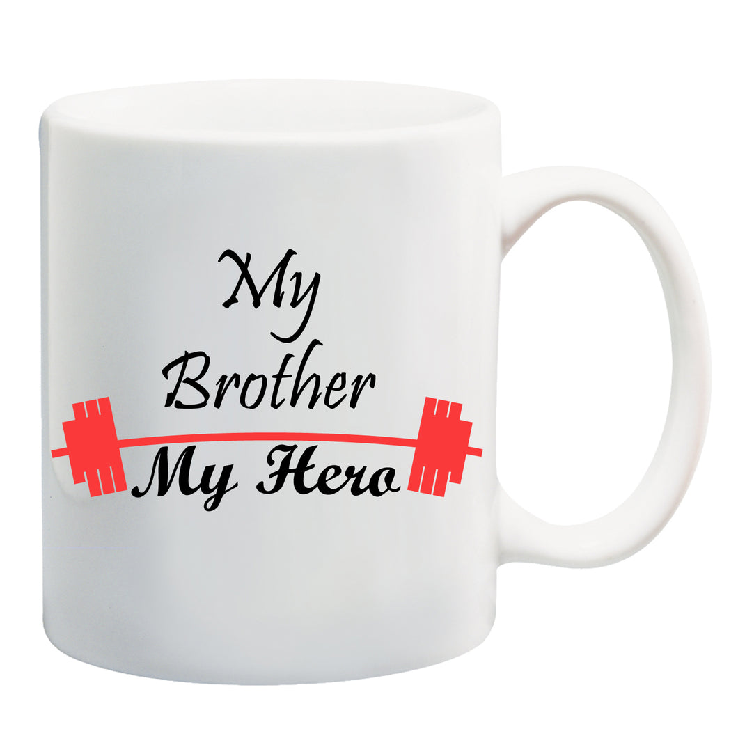 my brother my hero coffee mug for brother