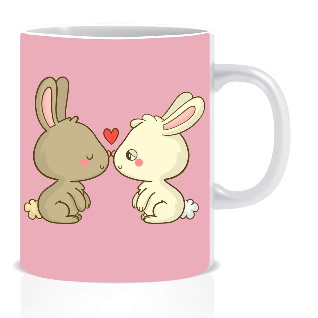 Rabbit in Love Coffee Mug | ED1414