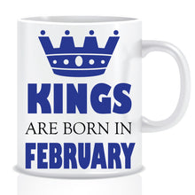 Kings Born In February Coffee Mug
