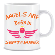 Angels are Born In September Coffee Mug