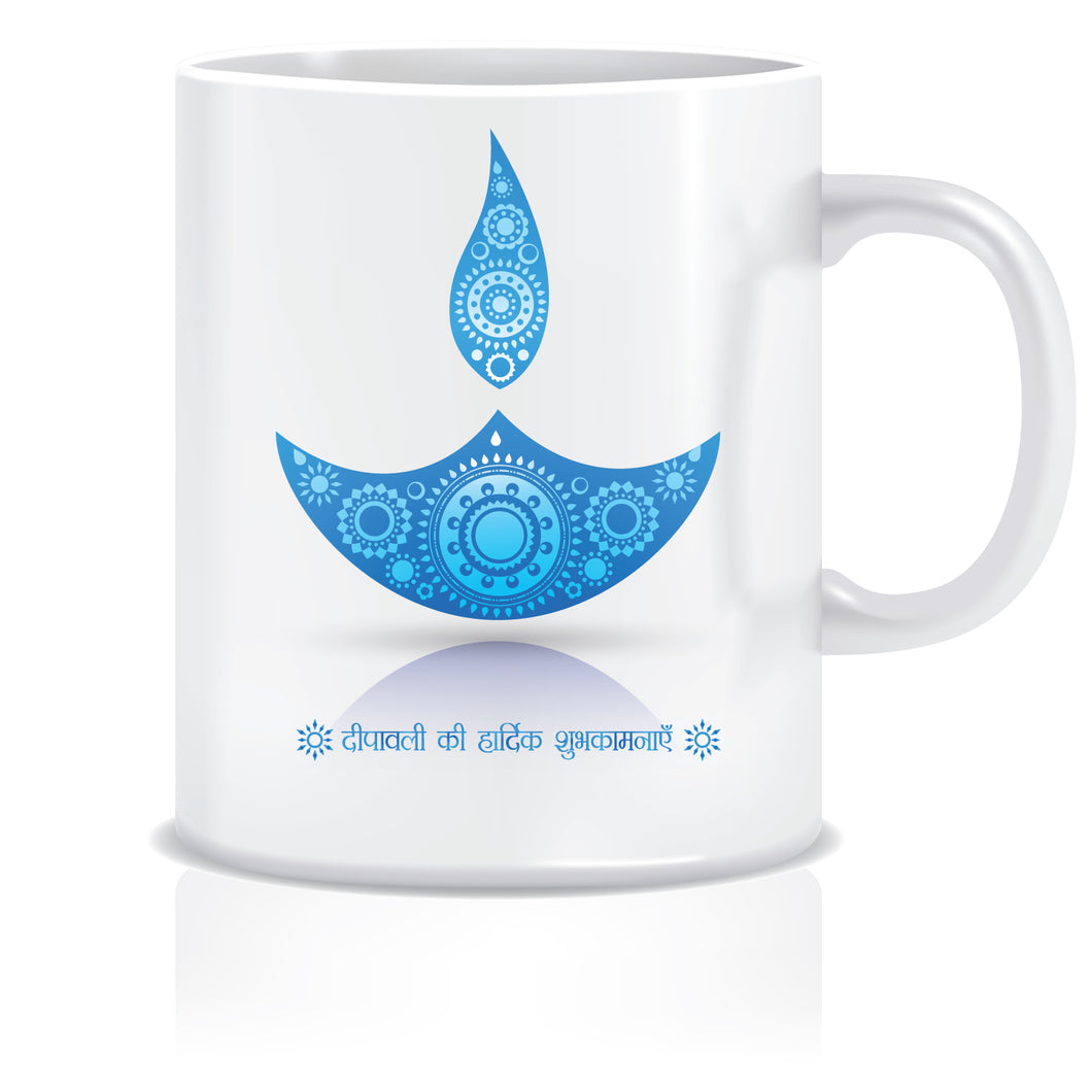 Diwali Greeting Ceramic Coffee Mug ED102