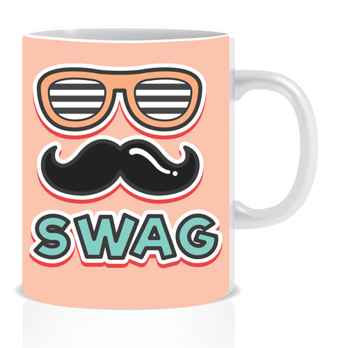 Swag Ceramic Coffee Mug | ED1438