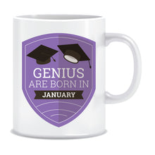 Genius are Born In January Coffee Mug