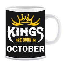 Kings Born In October Coffee Mug