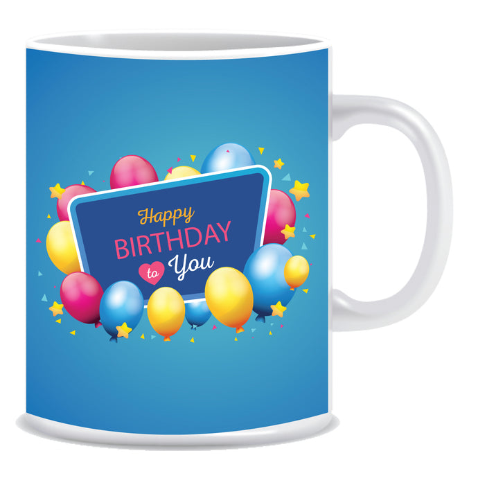 Happy Birthday to You Ceramic Coffee Mug -ED1374