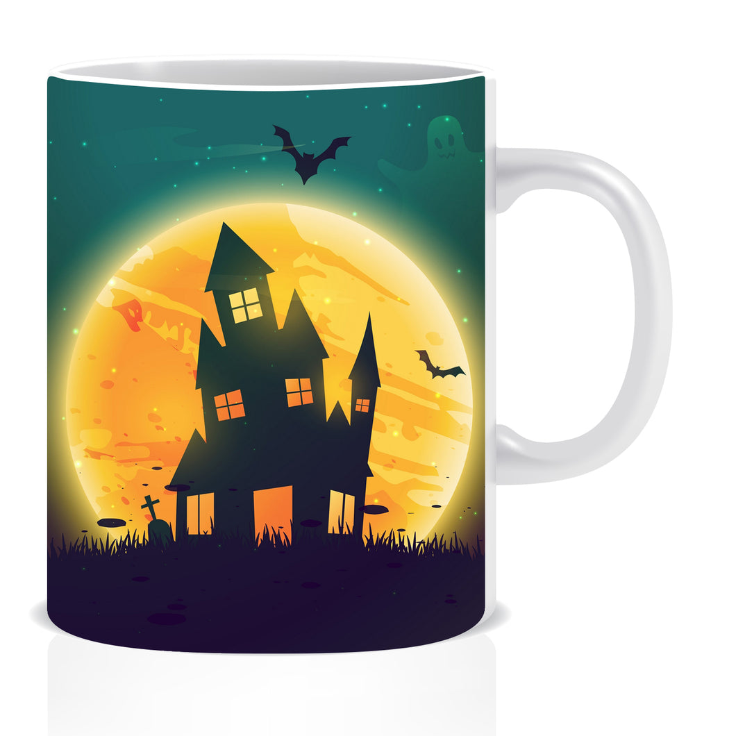 Halloween Ceramic Coffee Mug -ED1378