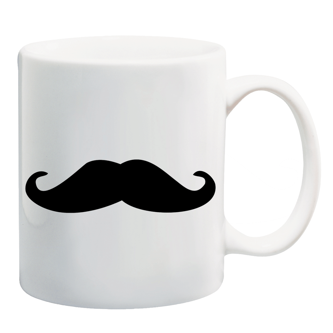 Mustache Ceramic Coffee Mug ED044