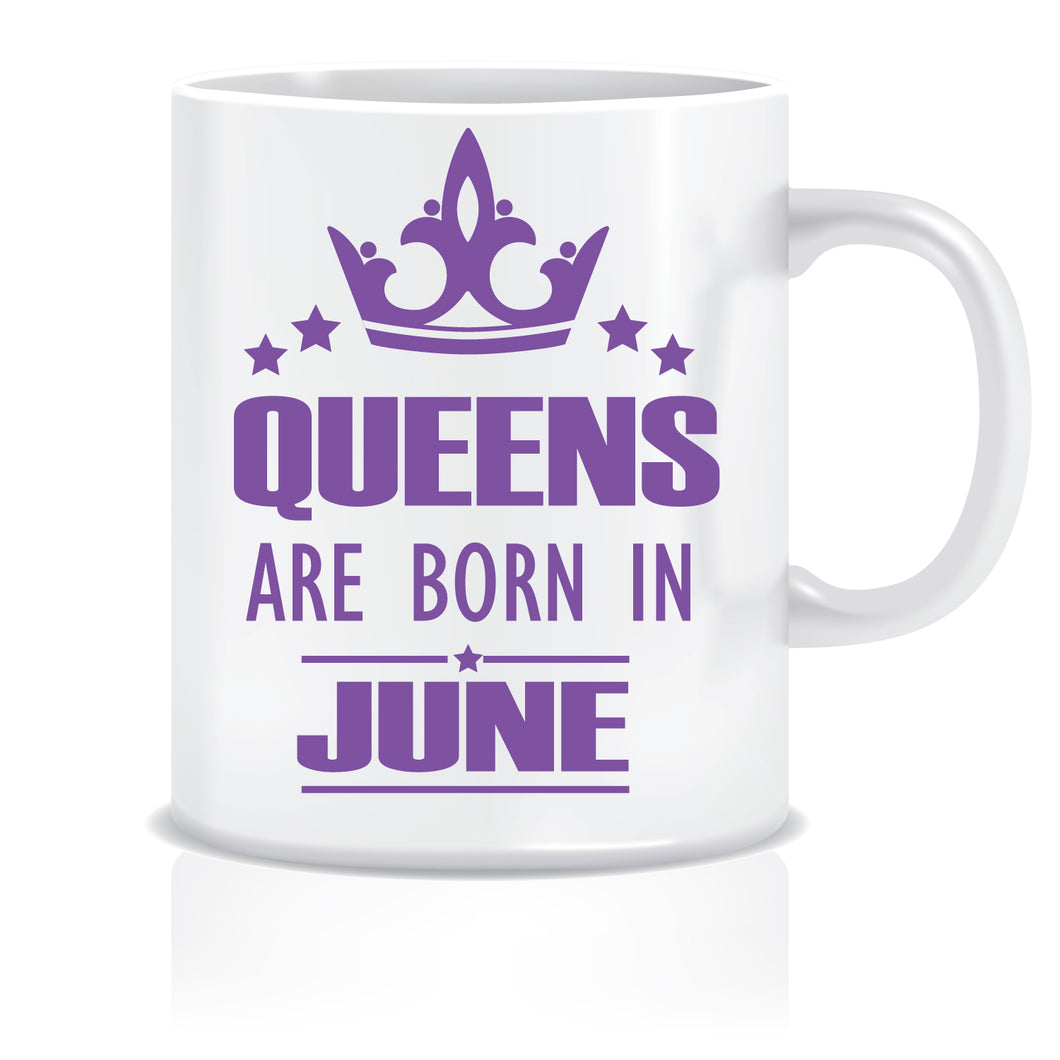Queens are Born In June Coffee Mug