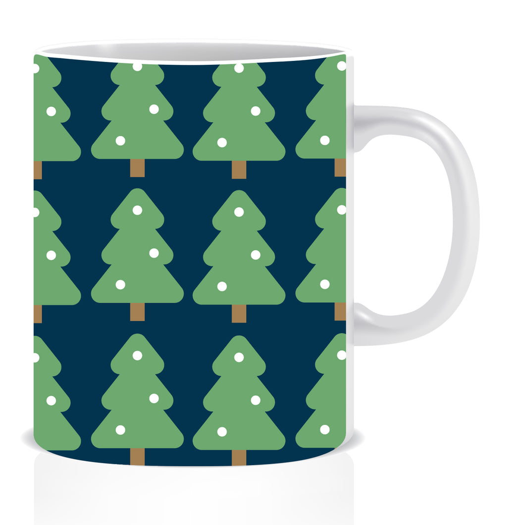 Christmas Tree Ceramic Coffee Mug -ED1394