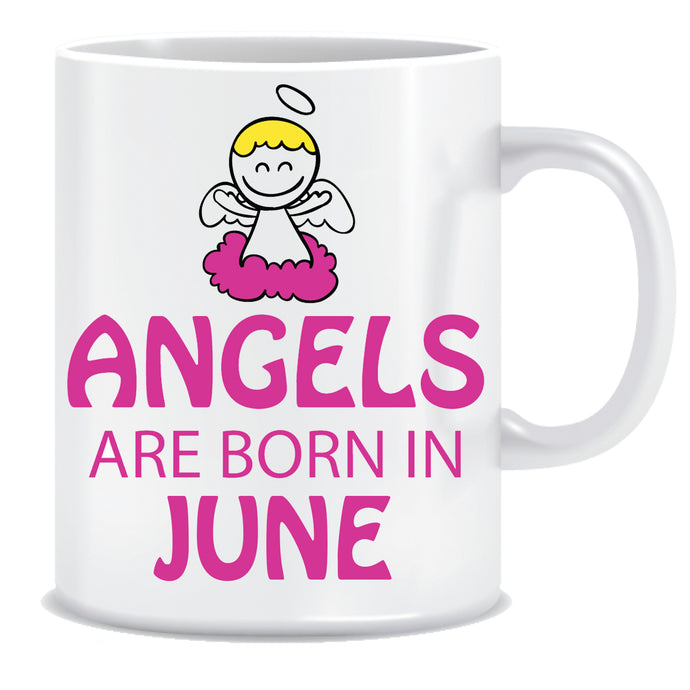 Angels are Born In June Coffee Mug