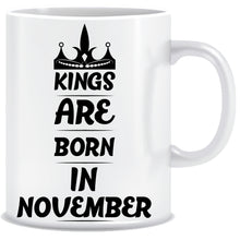 Kings Born In November Coffee Mug
