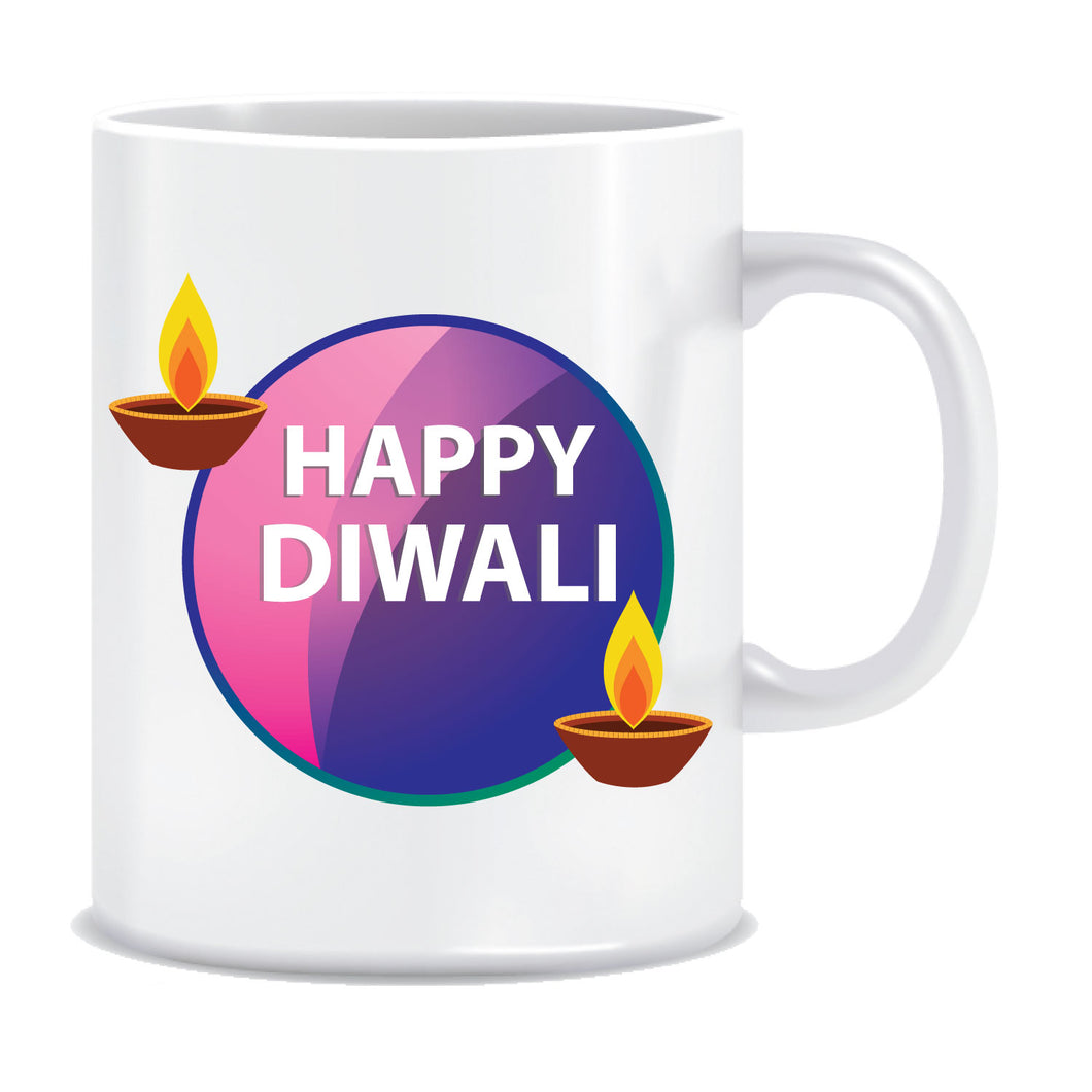 Diwali gift Printed Ceramic Coffee Tea Mug ED110