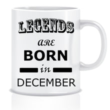 Legends Born In December Coffee Mug