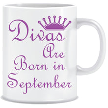 Divas are Born In September Coffee Mug