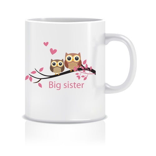 Big Sister Ceramic Coffee Mug ED057