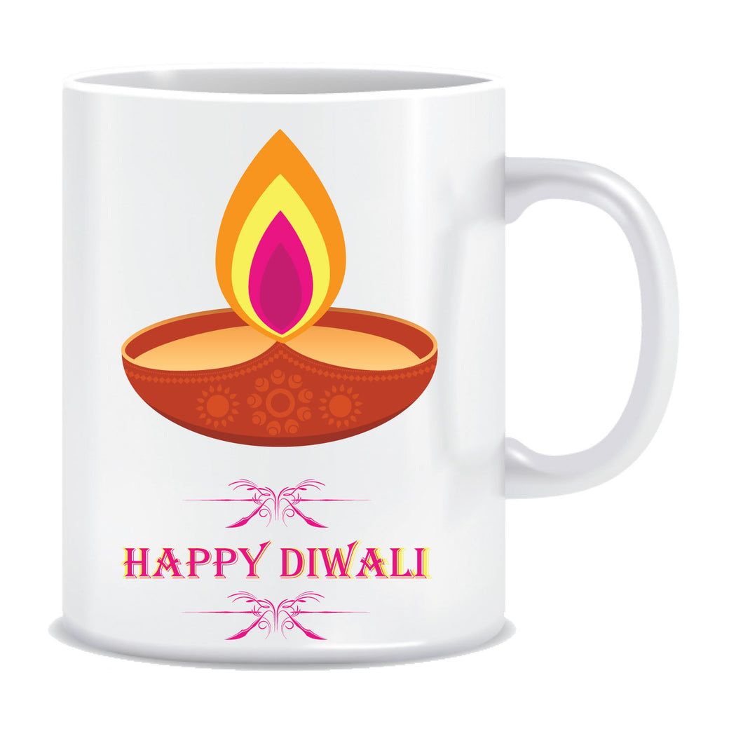 Happy Diwali Printed Ceramic Coffee Mug ED124