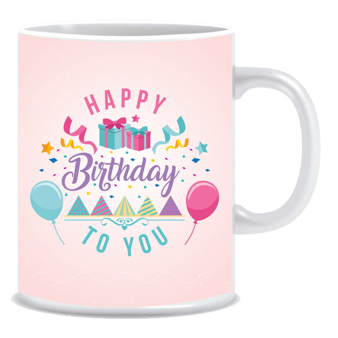 Happy Birthday to You Ceramic Coffee Mug -ED1376