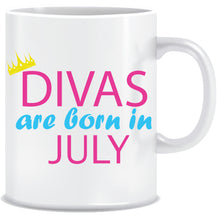 Divas are Born In July Coffee Mug
