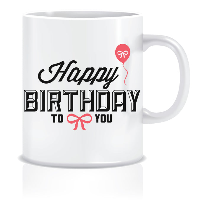 Happy Birthday Printed Coffee Mug  ED646