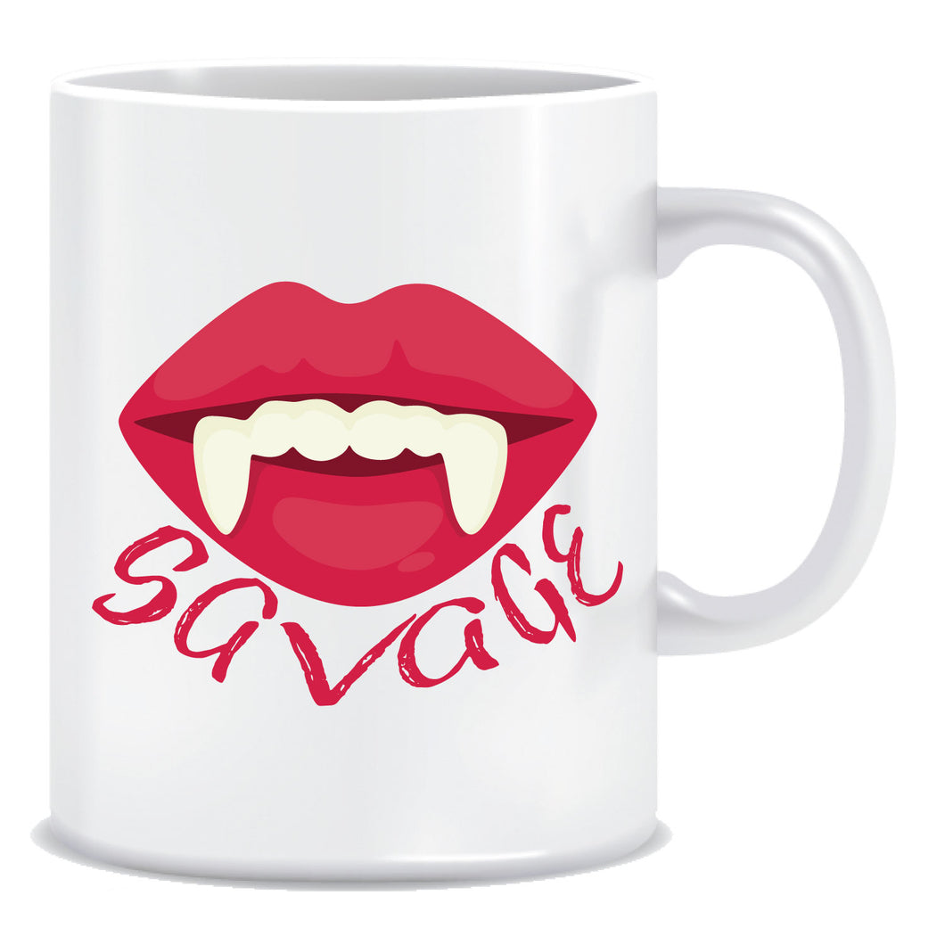Savage Ceramic Coffee Mug -ED1324