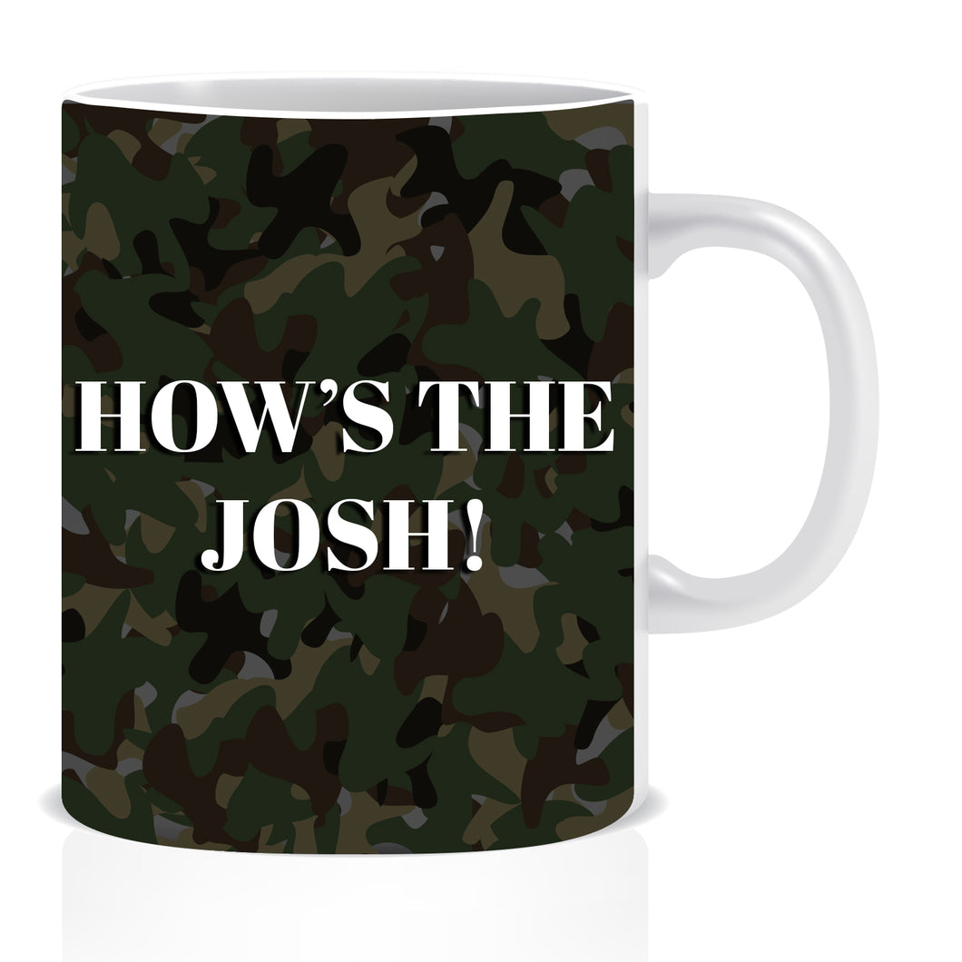 How's The Josh Ceramic Coffee Mug | ED1436
