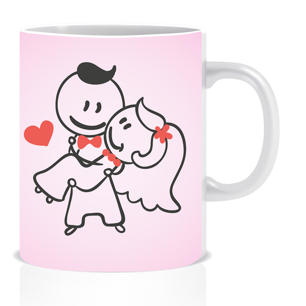 Lovely Couple Coffee Mug | ED1367