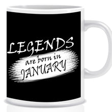 Legends Born In January Coffee Mug