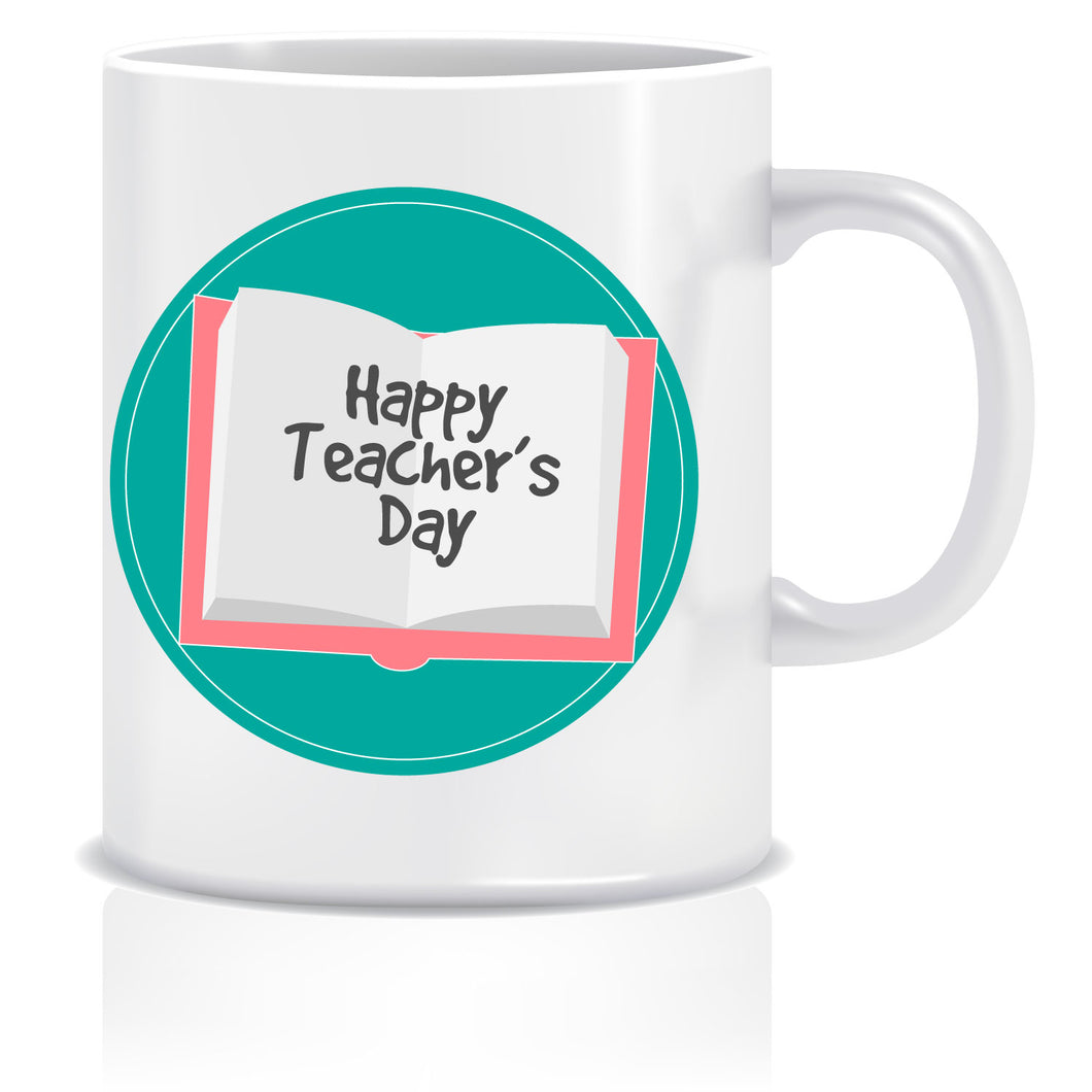 Happy Teacher's Day Printed Ceramic Coffee Tea Mug ED083