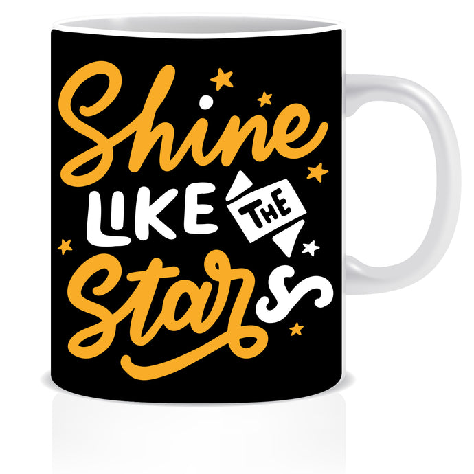 Shine Like The Star Ceramic Coffee Mug | ED1458