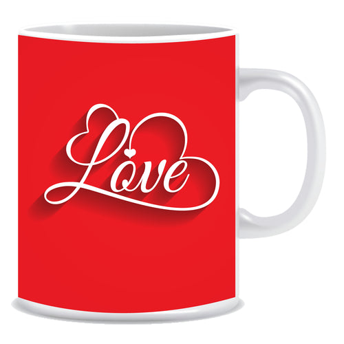 Love Ceramic Coffee Mug -ED1343