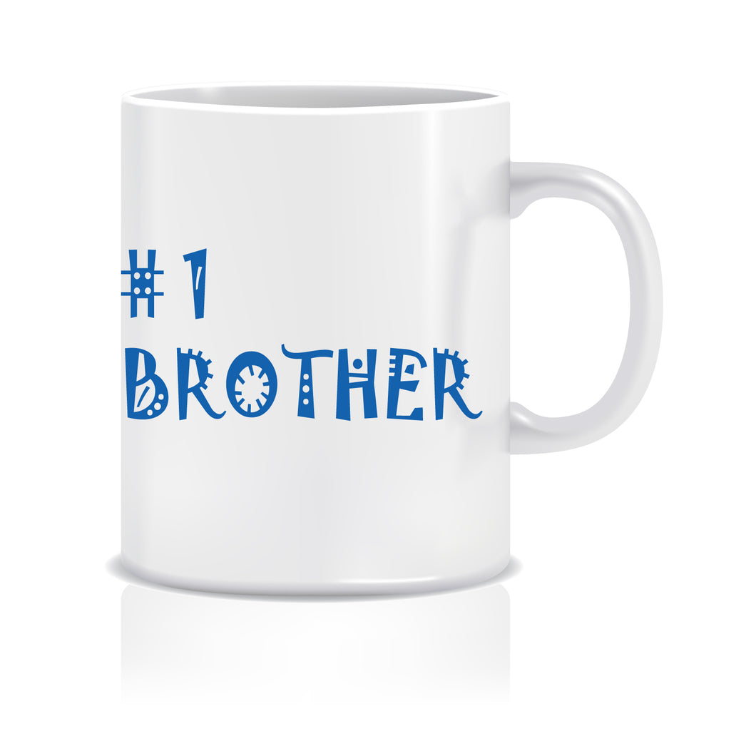 No. 1 Brother Ceramic Coffee Mug ED047