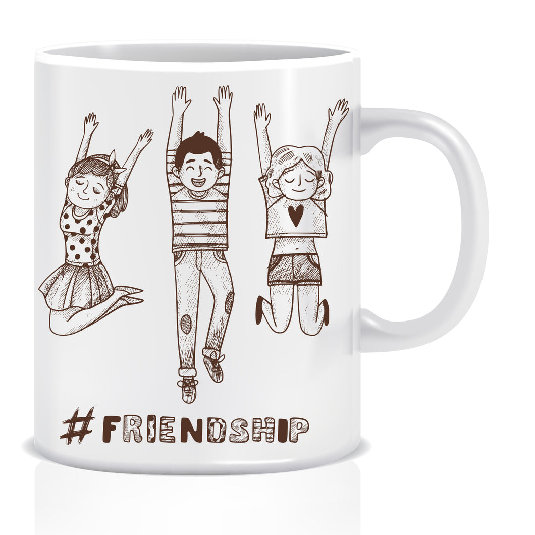 Friendship Ceramic Coffee Mug | ED1442