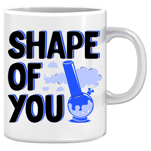 Shape Of You Ceramic Coffee Mug | ED1475