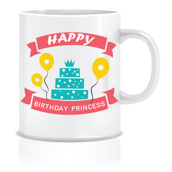 Happy Birthday Printed Coffee Mug  ED647