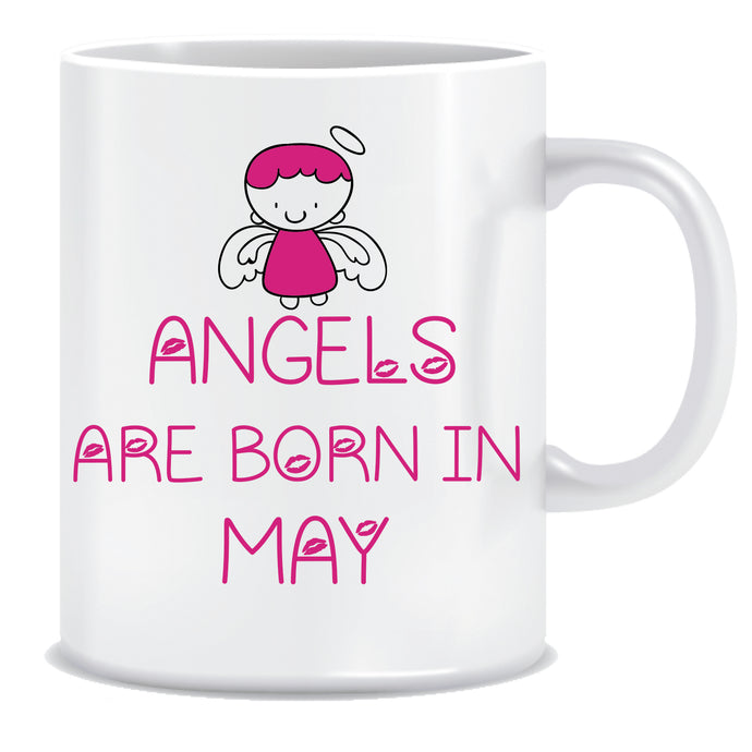 Angels are Born In May Coffee Mug