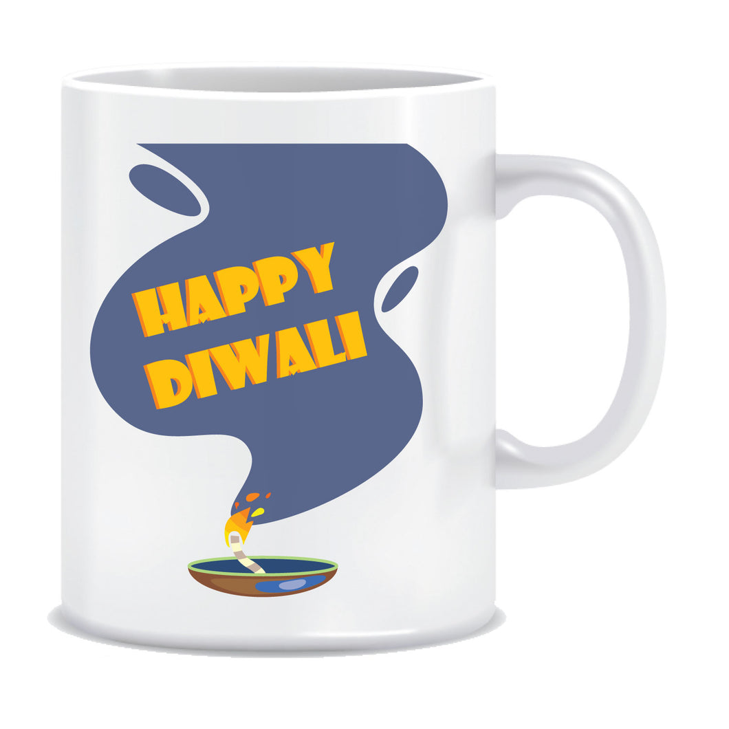 Happy Diwali Printed Ceramic Coffee Tea Mug ED113