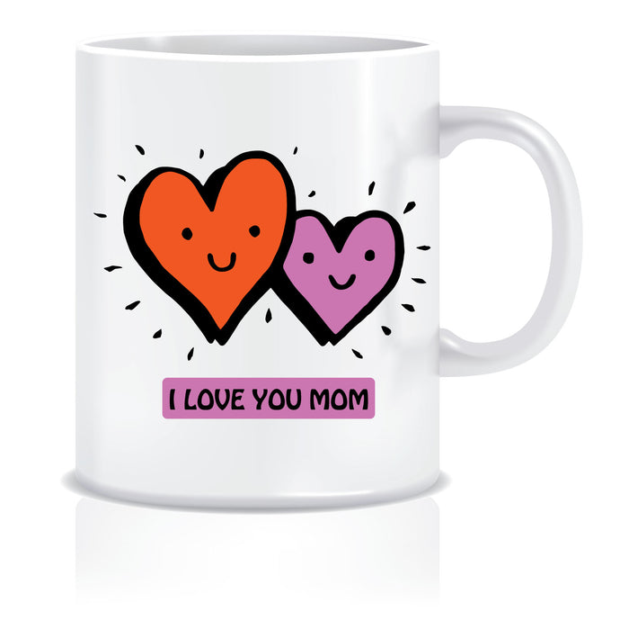 I Love you Mom Coffee Mug | ED631
