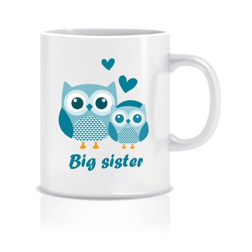 Big Sister Ceramic Coffee Mug ED056