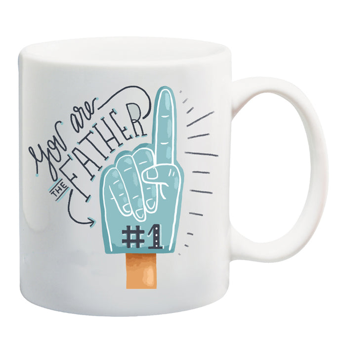 Father # 1 Ceramic Coffee Mug