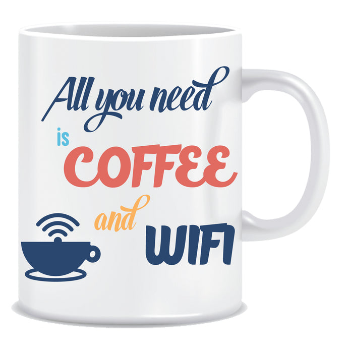 all you need is coffee and wifi