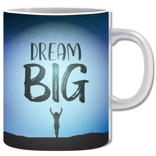 Dream Big Ceramic Coffee Mug | ED1474