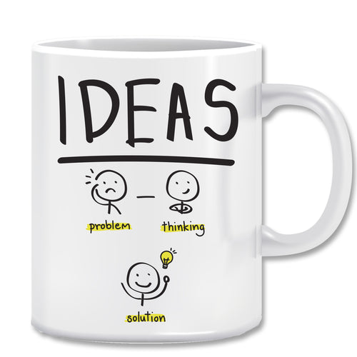 Ideas Ceramic Coffee Mug | ED1495