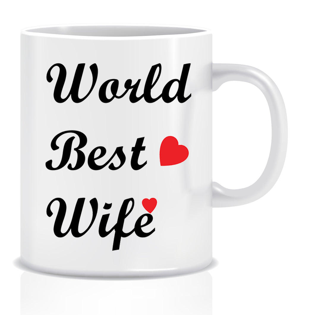 World Best Wife Ceramic Coffee Mug | ED1355