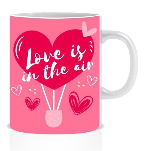 Love is in The Air Ceramic Coffee Mug -ED1412