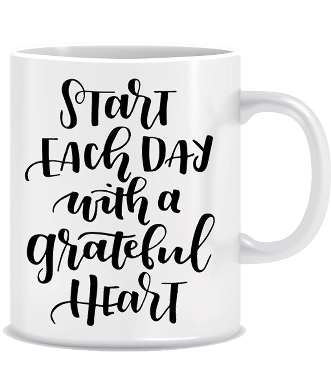 Start Each Day With Greatful Heart ED013