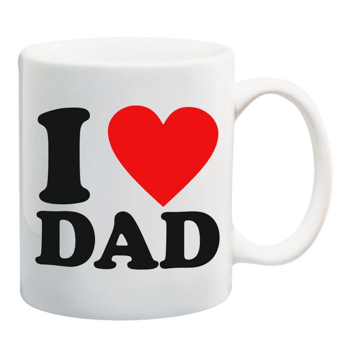 I Love You Dad Coffee Mug